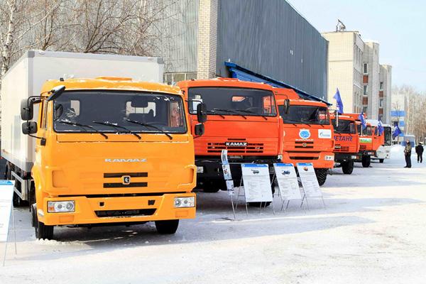 Газовые КАМАЗы отметились на выставке
