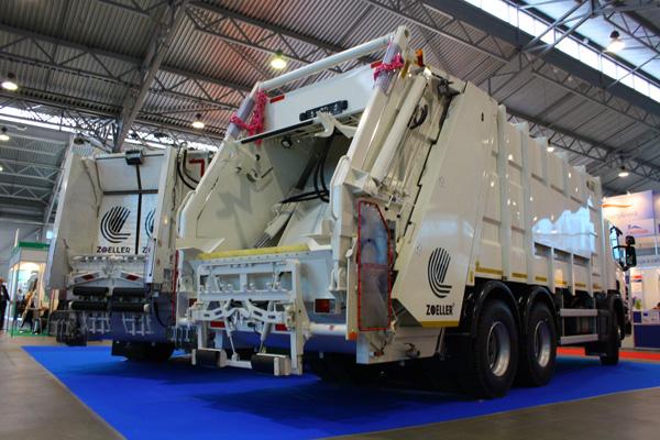 Специальная техника Scania на международном форуме Экология большого города - 2012