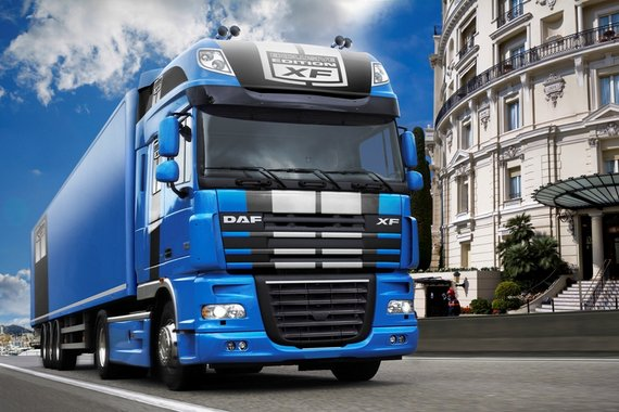 DAF ������� �� ����� ����������� ������ XF105 Exclusive Edition