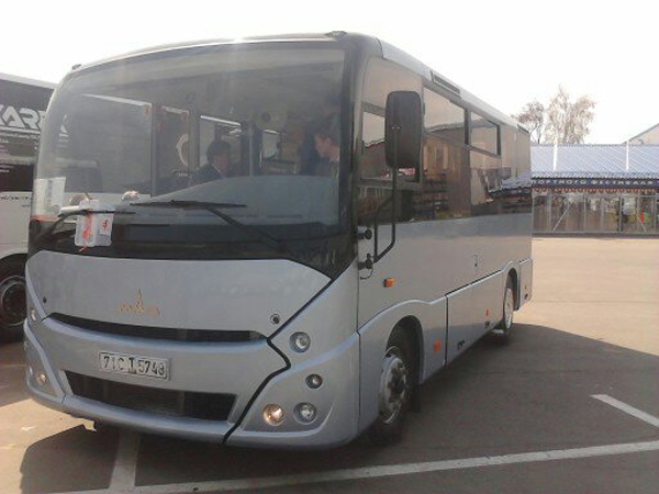 МАЗ в Мире автобусов 2012
