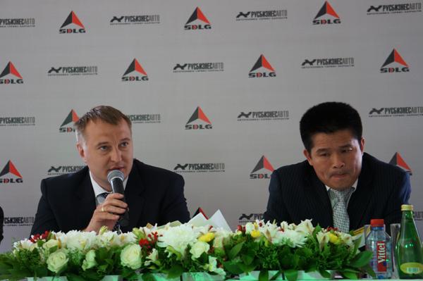 Русбизнесавто открыла новый Дилерский Центр SDLG в Москве