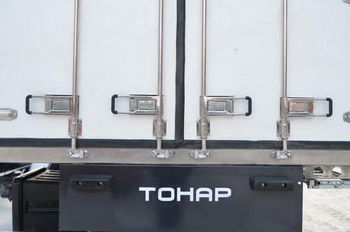 Конструктивные изменения в изотермических полуприцепах ТОНАР