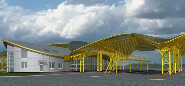 После реконструкции открыт международный автомобильный пункт пропуска «Ягодин»