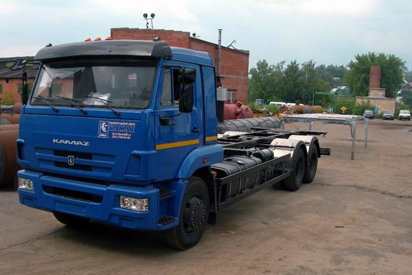 КАМАТЕЙНЕР создал новый флагман КАМАЗ 65117-62-783820