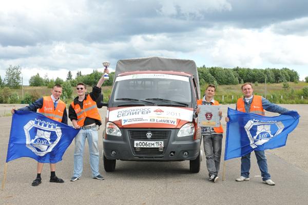 Автомобили «ГАЗель БИЗНЕС» приняли участие в соревнованиях «РобоКросс-2012»