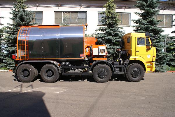 Новая техника КАМАЗ повысит качество дорог