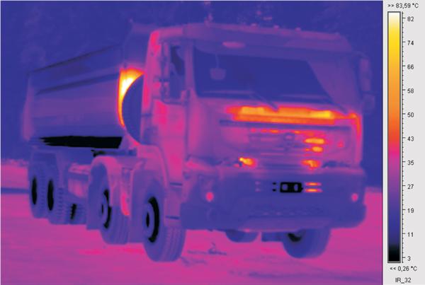 Испытания самосвалов Volvo: насколько существенна разница в температуре выхлопных газов между Евро-3 и Евро-4?