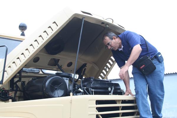 Египетские специалисты инспектировали  автомобили КрАЗ