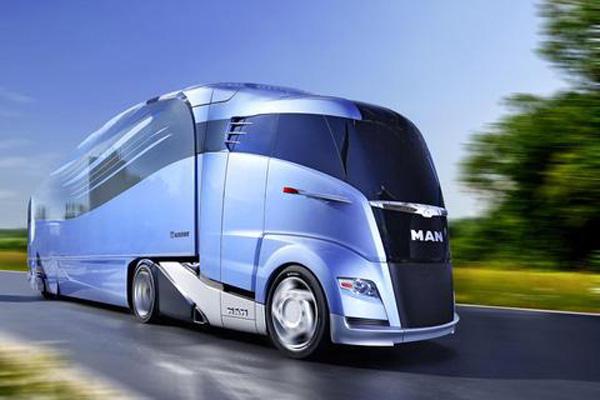 Сцепка будущего Krone и MAN - S Aero Liner