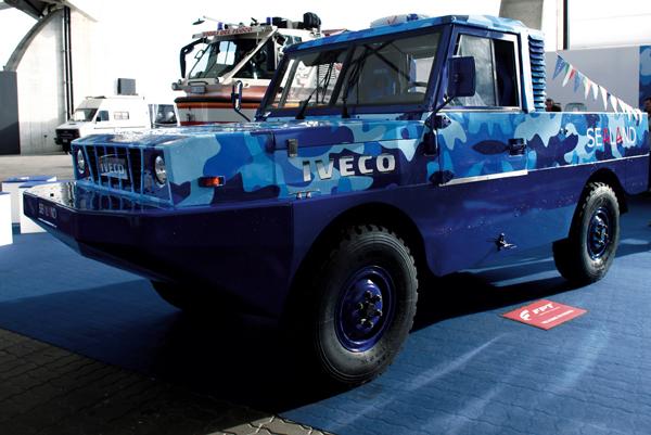 Iveco SeaLand - вдохновленный титулом Грузовик Года 2013