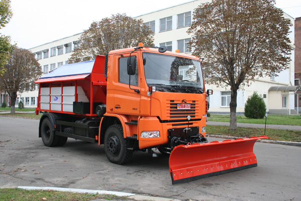 «АвтоКрАЗ» передал коммунальные автомобили Кременчугу
