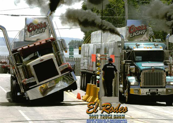 Rodeo du Camion - современное родео на грузовиках