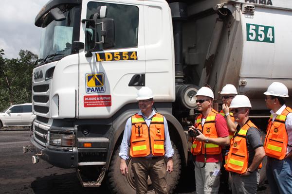 Scania чествует крупнейшего клиента в области горной добычи