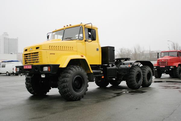Седельные тягачи КрАЗ-6446 будут  работать на новых нефтяных разработках в районе Крайнего Севера