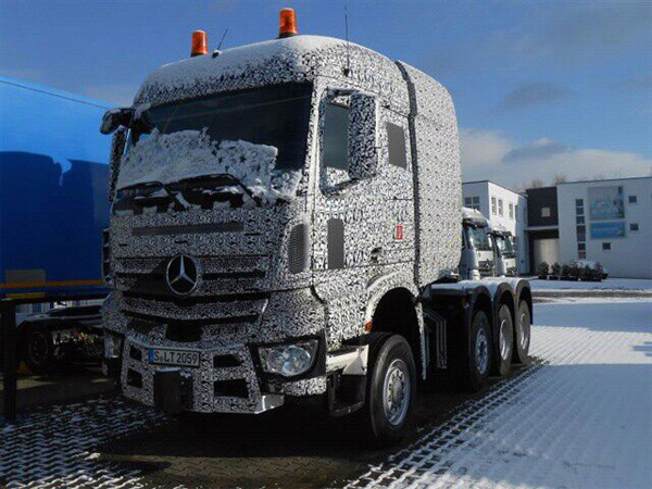 Новый Mercedes-Benz Actros в роли Heavy Duty truck