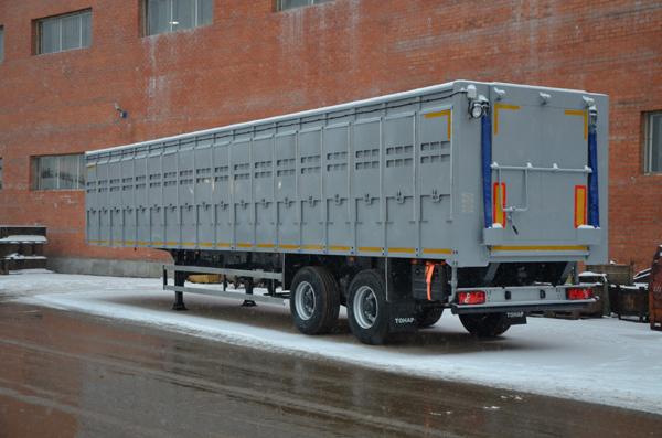 ТОНАР обновил полуприцеп для перевозки скота!