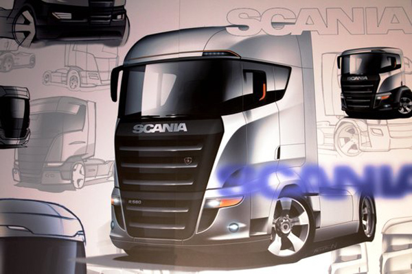 Scania засветила новую R-серию?