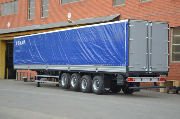 Новый тяжеловоз ТОНАР 40 тонн на 4 оси
