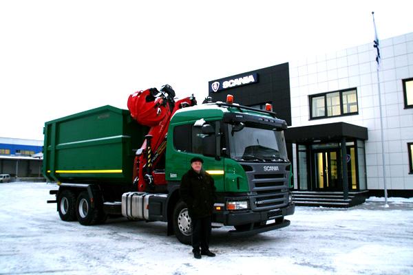 Новый ломовоз от Scania