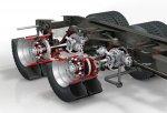 DAF разработал новую облегченную тележку для тяжелых грузовиков