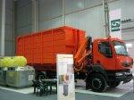 Автомобиль-мусоровоз КрАЗ К16.2R получил высокую оценку на выставке «Эколо ...