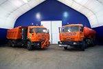 Газовые КАМАЗы на «АВТОСИБ-2012»