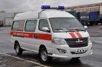 Микроавтобус «МАЗ» для скорой помощи