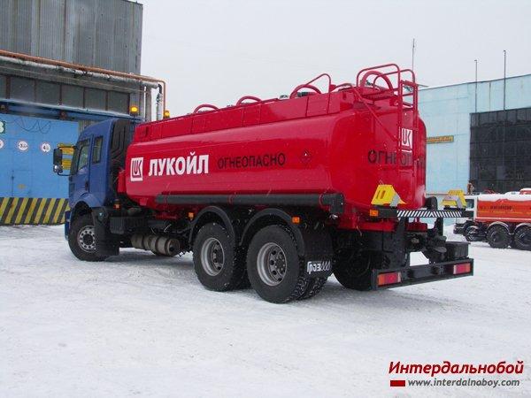 Новинка от ГрАЗ - цистерна на базе Ford 2530 6х2