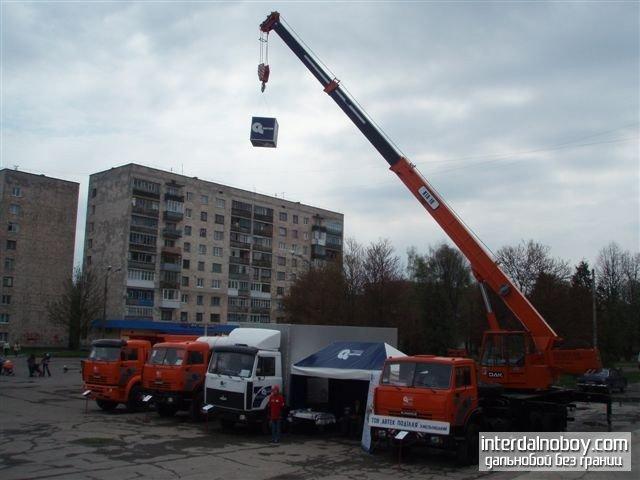 АВТЕК - лучший продавец автокранов ДАК Силач