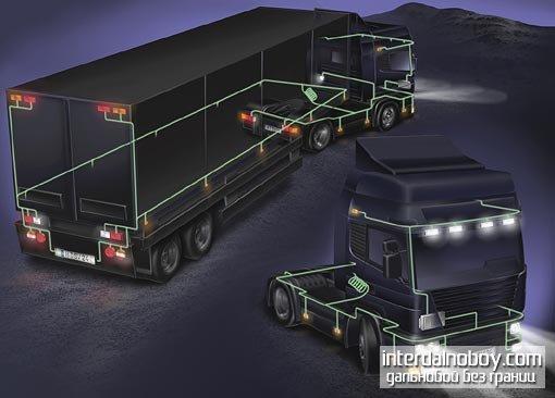 Яркий новый свет на промышленности грузовика - Siemens VDO устанавливает новые стандарты для легкого управления в грузовиках