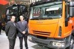 TNT начал испытания в Европе первого гибридного грузовика Iveco