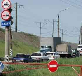 График движения транспорта через Борский и дублирующие мосты по автодороге Н.Новгород-Шахунья-Киров