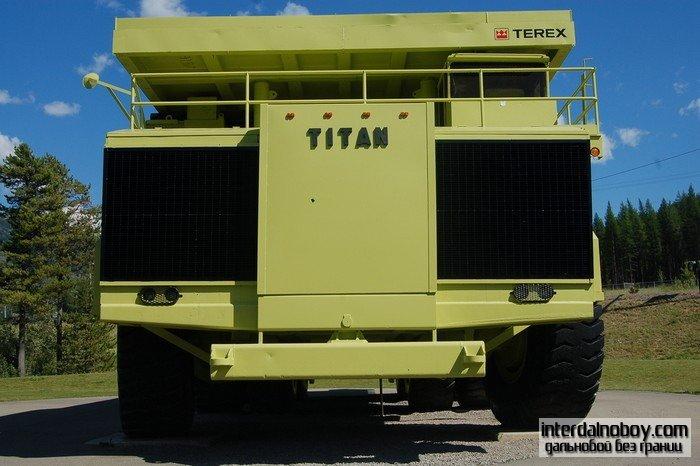 Ветеран песчаных карьеров Titan Terex 33-19