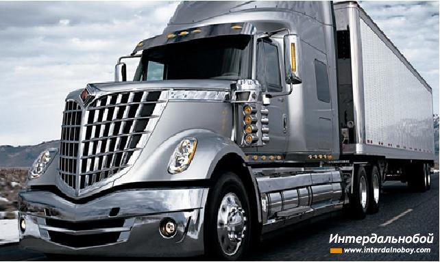 Американская компания International truck на международной автомобильной выставке в Чикаго представила новый грузовик. Обновлённая модель LoneStar выделяется футуристическим дизайном, который просто не может остаться незамеченным на любой дороге мира