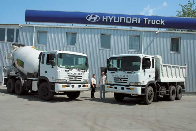 Hyundai HD-270 - новый властелин стройплощадок