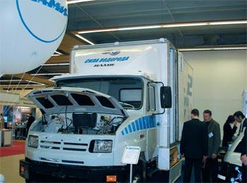 Экологически чистый Бычок. Новый водородный автомобиль на базе ЗиЛ-5301