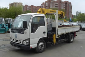 Кран-манипулятор для нестандартных грузов