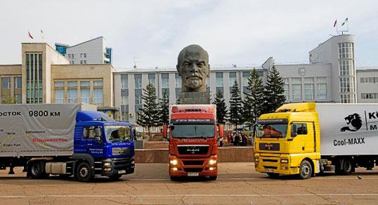 На российском рынке будут доминировать или европейские, или китайские грузовики